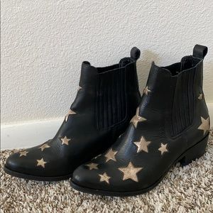 COPY - Matisse STAR BOOTS in black leather
